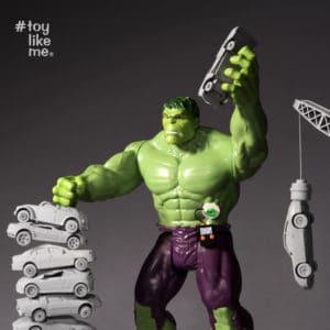 Selbst Hulk muss seinen Zuckerspiegel messen.